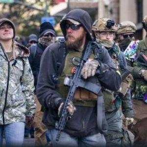 САЩ са на прага на въоръжени бунтове и глобално преустройство
